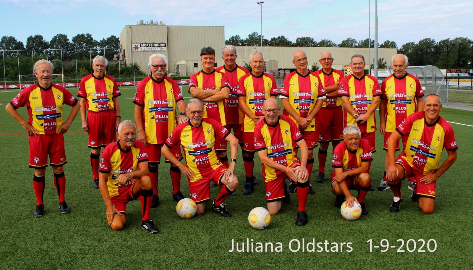 Oldstars gaan vaker trainen